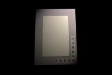 Haze Paua Mirror 540 x 400