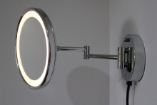 LED Light x3 makeup mirror