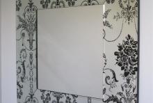 The Fleur Mirror 900 x 900