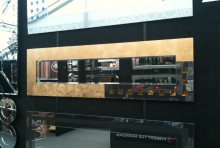Gold Pearl Slimline 1300 x 380
