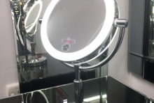 190mm LED Battery Make-Up Mirror