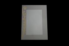 Devine Gold Mirror 540 x 400
