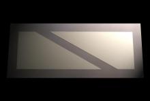 Haze Split Mirror 1200 x 500