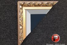 Custom Size – E03 Gold Ornate