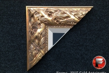 Custom Size – I015 Gold Antoinette Ornate