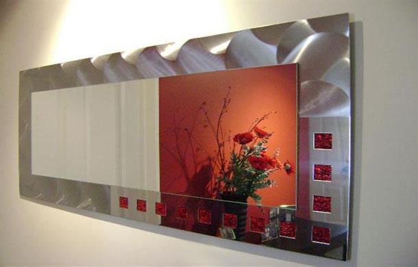 Designer Stainless Steel Mirrors